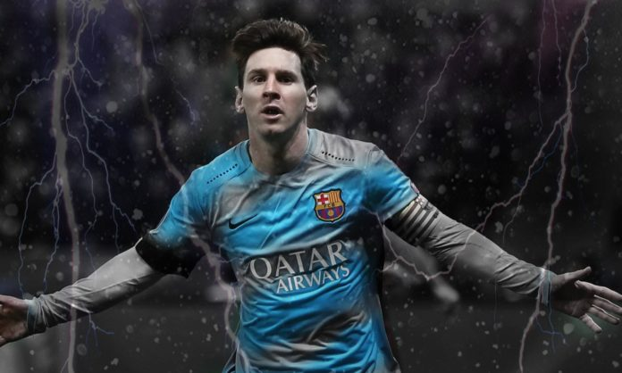 Messi no Manchester City