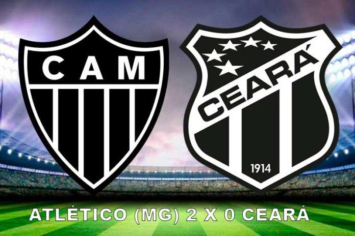 Atlético (MG) bate o Ceará