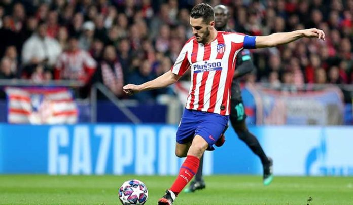 Atletico Madrid forward player