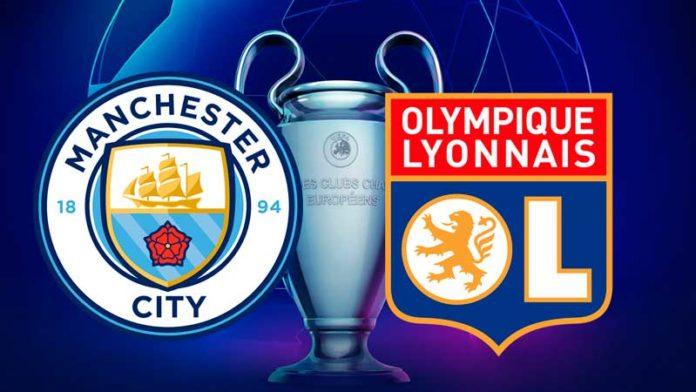 Manchester City enfrenta Lyon na Champions