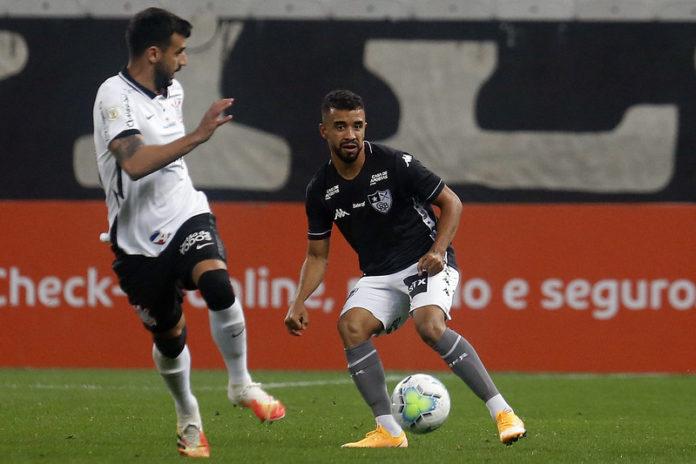 Corinthians e Botafogo empatam