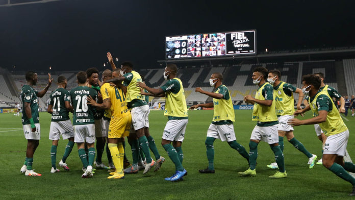 Palmeiras vence o Corinthians