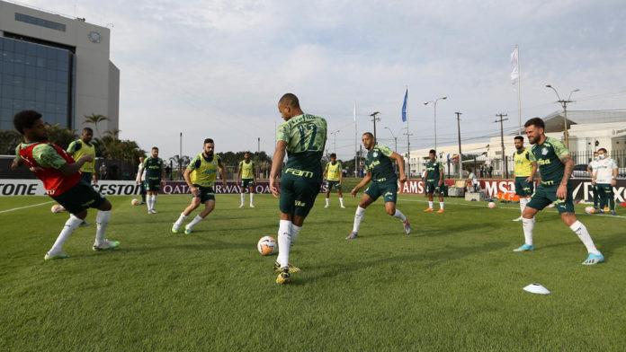 Palmeiras enfrenta o Guarani (PAR)