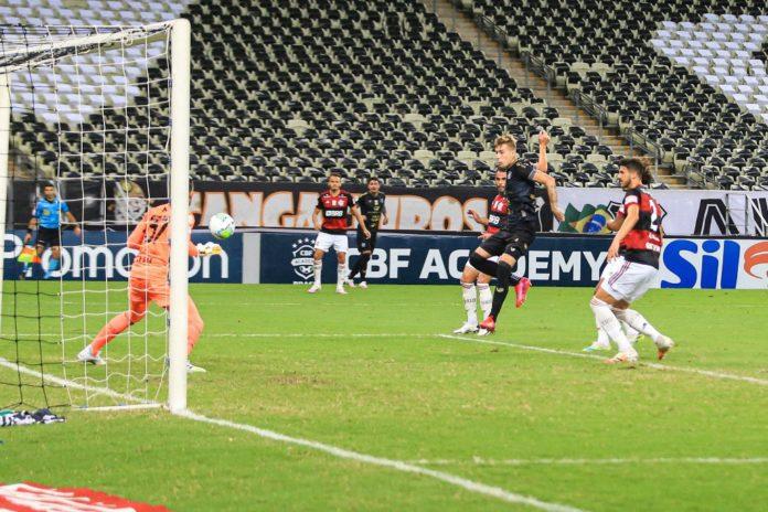 Ceara vence o Flamengo
