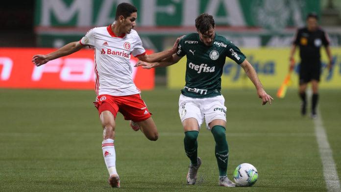 Palmeiras e Internacional empatam