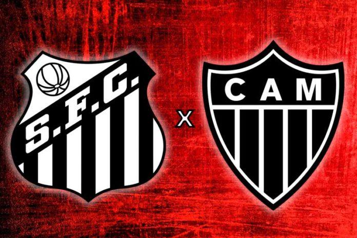 Santos vs Atletico MG