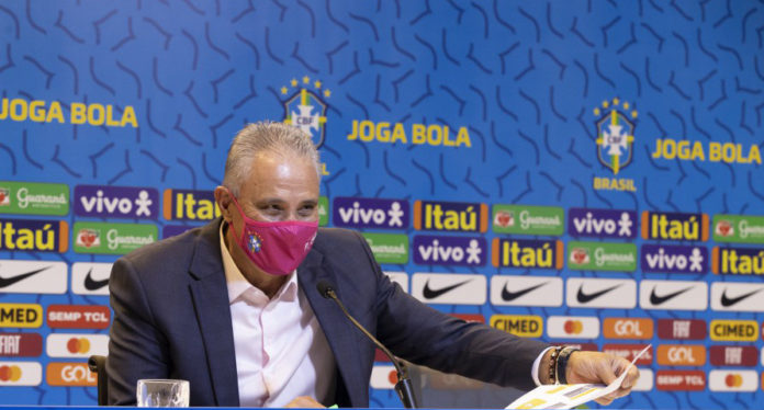 Tite - foto: Lucas Figueredo / CBF