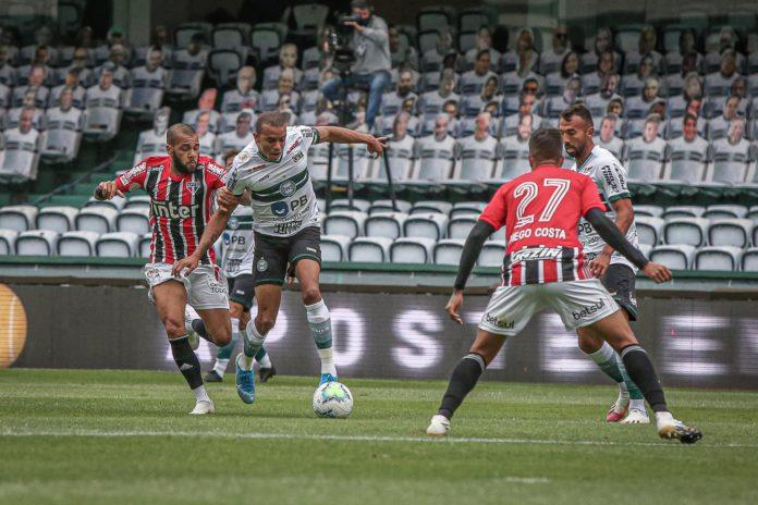 Coritiba e São Paulo Empatam