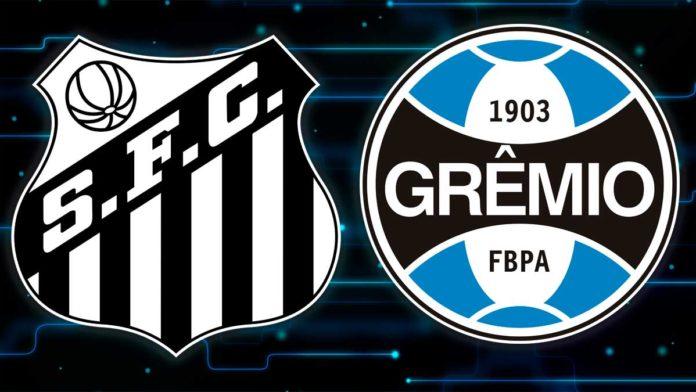 Santos vs Grêmio