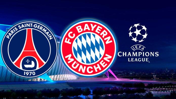 PSG vx Bayern de Munique