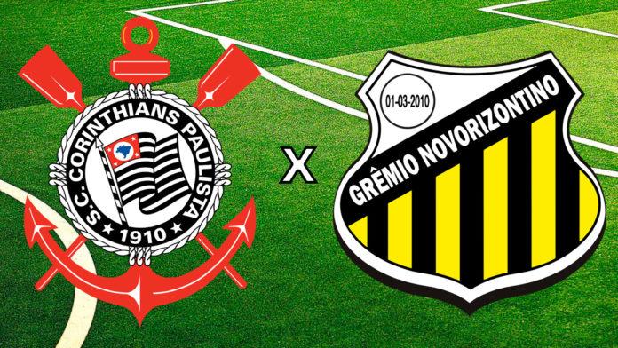 Corinthians vs Novorizontino