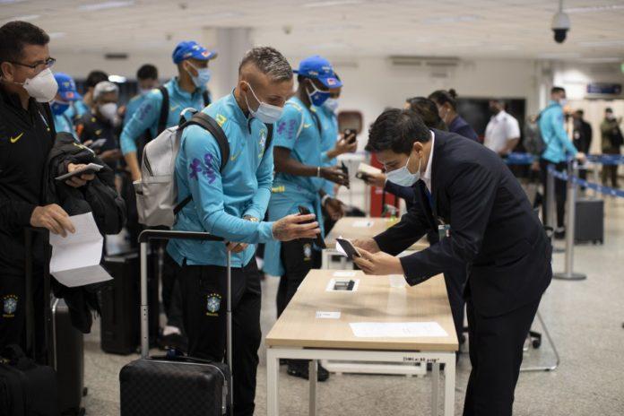 Seleção Brasileira chega ao Paragua