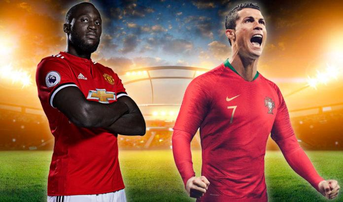 Lukaku e Cristiano Ronaldo