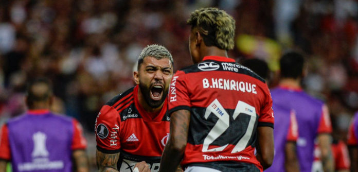 Gabi e Bruno Henrique