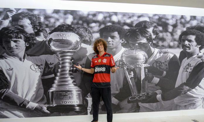 David Luiz (Foto: Marcelo Cortes / Flamengo)