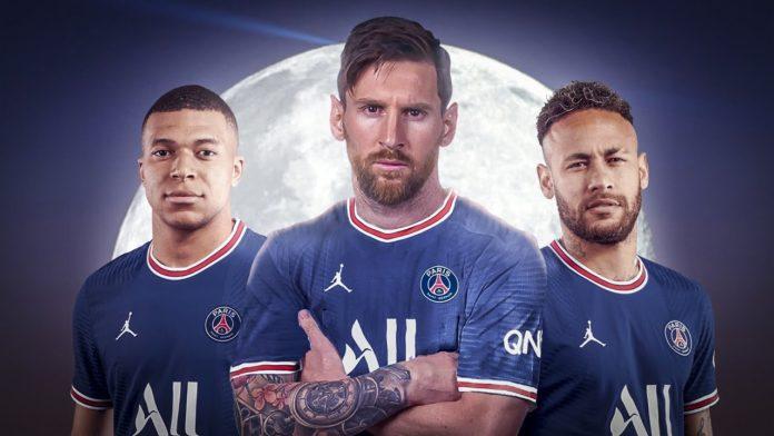 Mbappé, Messi e Neymar